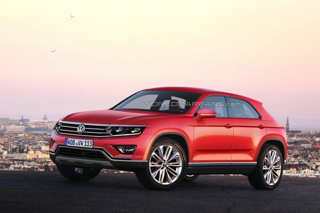Report: A new Volkswagen Tiguan CC could surface sometime in 2016