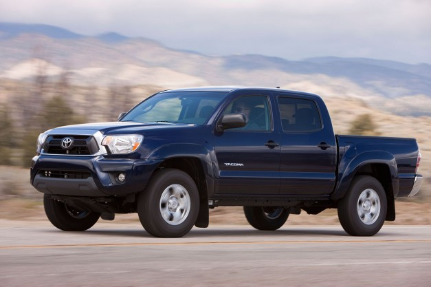 Recalls: Toyota's Tacoma recalled for rust on leaf springs and a fire risk