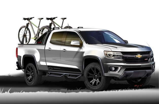 Chevrolet launches the Colorado Sport Concept on the Internet
