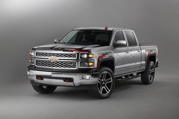 Chevrolet's Silverado gets a treatment for SEMA too