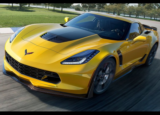 The 2015 Chevrolet Corvette Z06 cracks 60 in less than three seconds