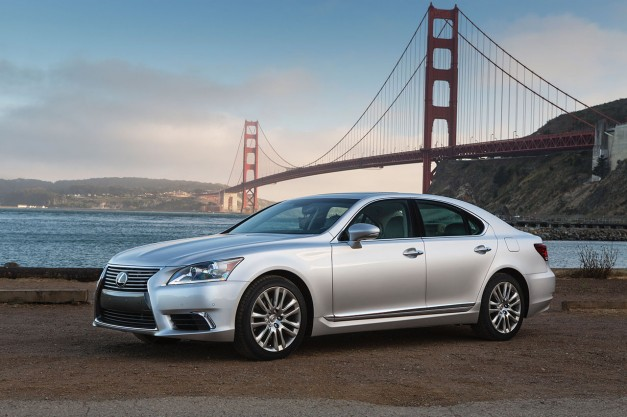 Lexus details minor updates for the 2015 LS