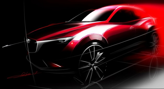 OFFICIAL: Mazda CX-3 to debut at Los Angeles [UPDATED]