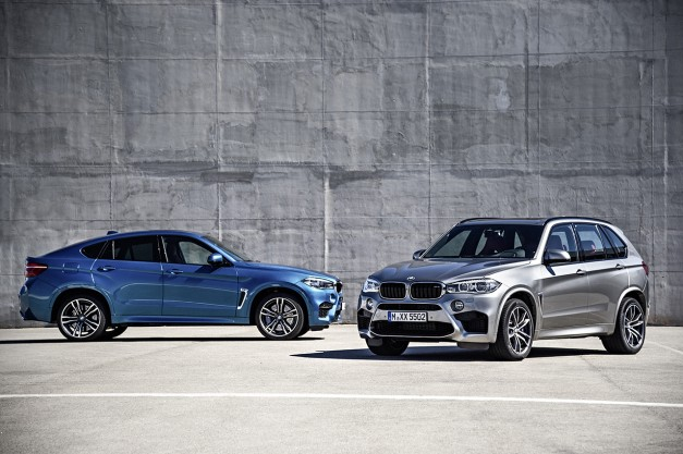 BMW reveals 2016 X5 M and X6 M ahead of Los Angeles