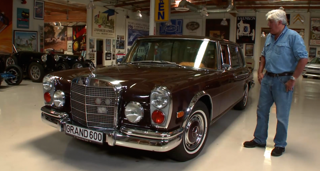 Video: Jay Leno's Mercedes-Benz 600 Grosser is one grossly epic land yacht