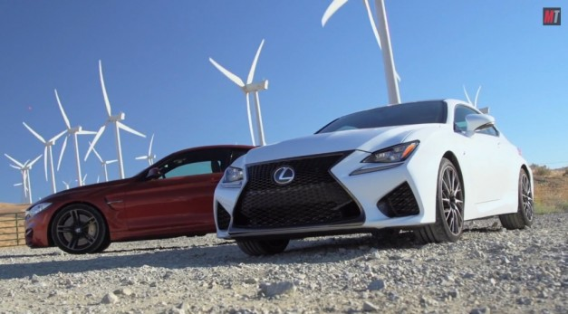 Video: MotorTrend pins the BMW M4 against the new Lexus RC F