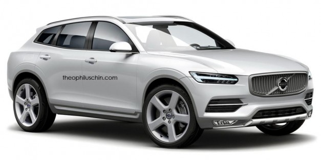 Photo Rendering: Imagine if Volvo made a BMW X6 competitor out of its XC90
