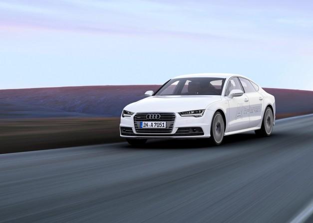 2014 LA Auto Show: Audi reveals the A7 Sportback H-Tron Quattro for LA