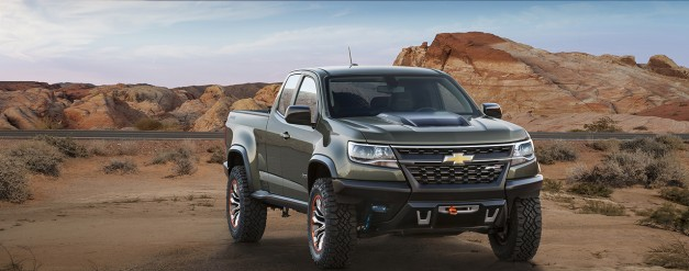 2014 LA Auto Show: The Chevrolet Colorado ZR2 Concept is the diesel midsize pickup we've been clamoring for