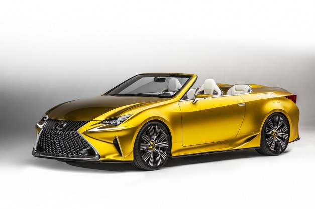 Report: The Lexus RC Convertible killed in favor of a new three-row crossover