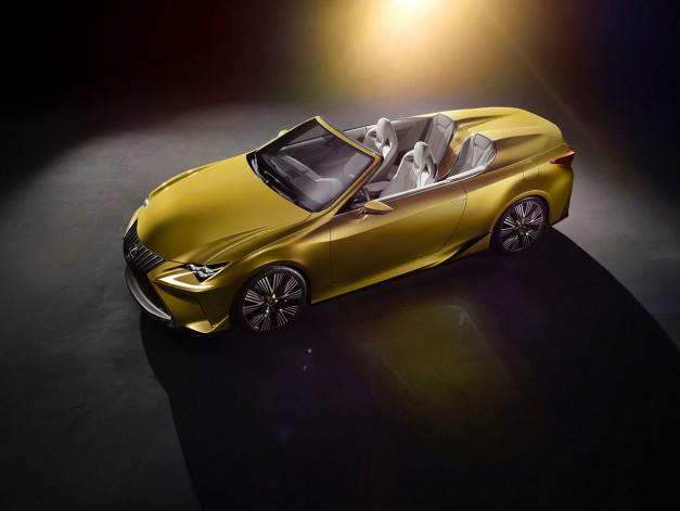 2014 LA Auto Show: The Lexus LF-C2 drops its top for LA