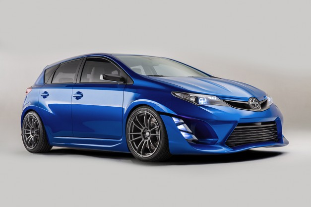 2014 LA Auto Show: Scion pitches their idea for a new hot hatch, the iM Concept