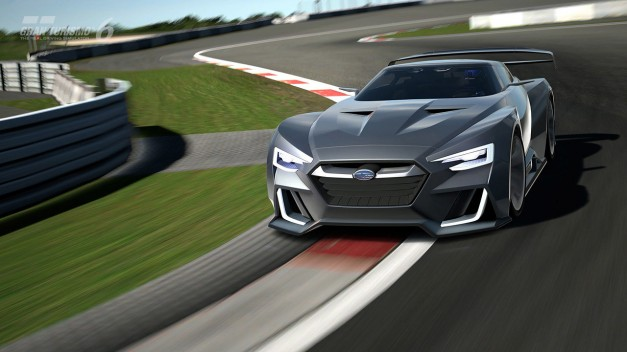 2014 LA Auto Show: The Subaru Viziv GT Vision Gran Turismo comes to life at LA