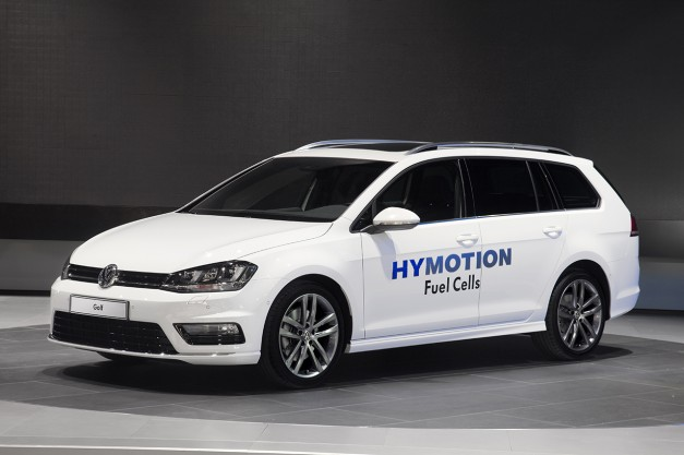 2014 LA Auto Show: The Volkswagen Golf Sportwagen HyMotion makes debut
