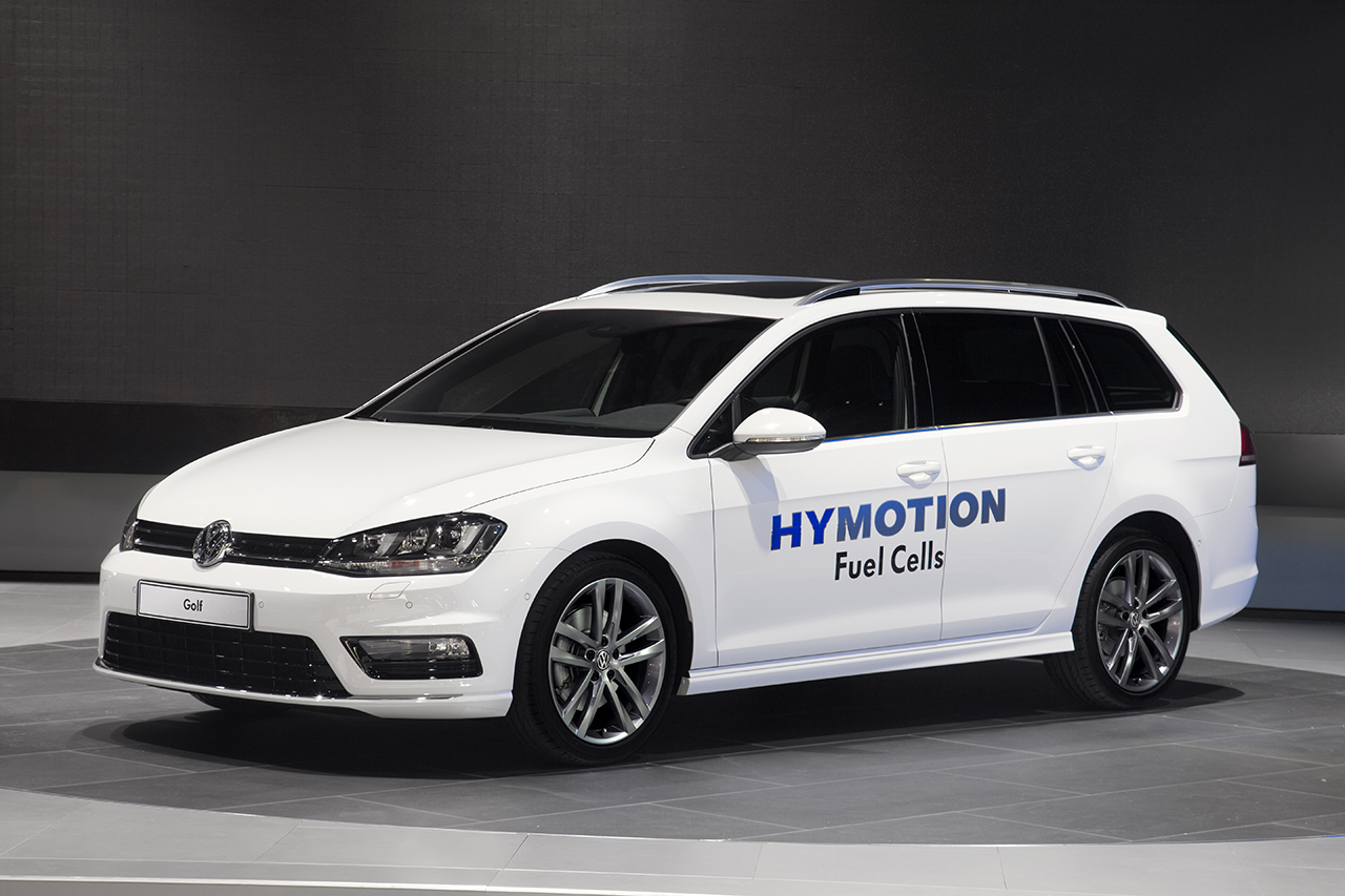2014 Volkswagen Golf HyMotion Concept