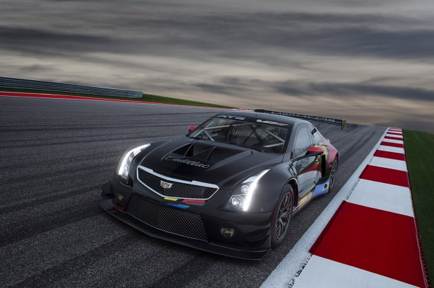 2014 LA Auto Show: Next to the new Cadillac ATS-V is its motorsports sibling, the ATS-V.R Race Car