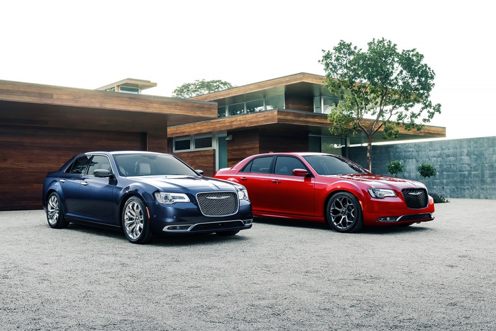 2015 Chrysler 300C Platinum and 300S