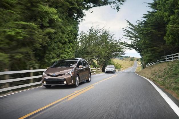2014 LA Auto Show: The 2015 Toyota Prius v gets some nip/tuck for LA