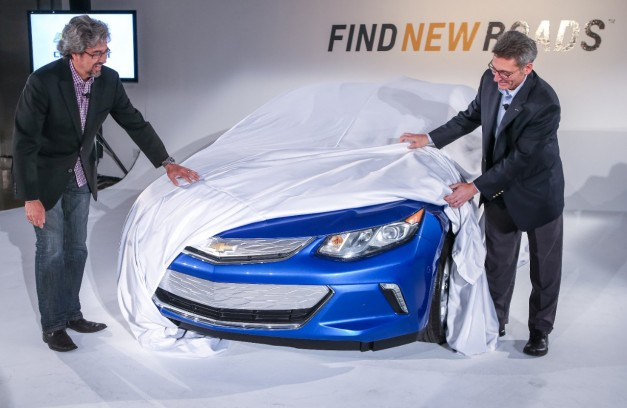 2014 LA Auto Show: Chevrolet teases the next-gen Volt at event in LA