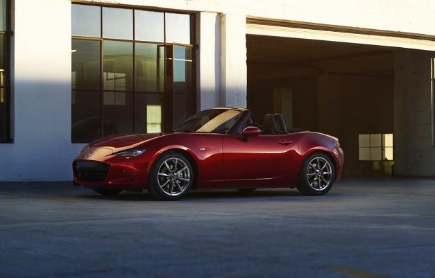 Mazda commences production of the Miata MX-5