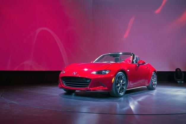 2014 LA Auto Show: The 2016 Mazda Miata MX-5 takes its bow for North America