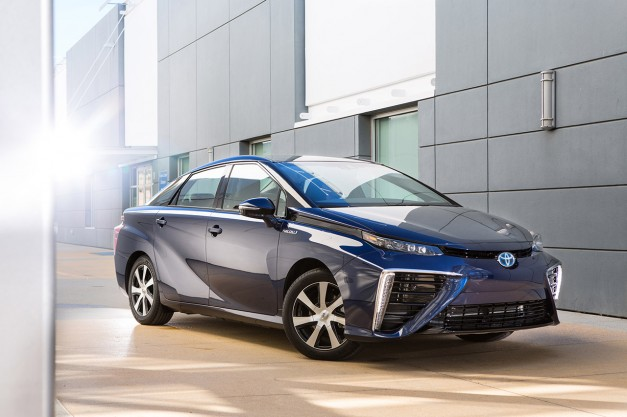 Toyota's Mirai FCV is apparently kicking ass at sales, company considering more fuel-cell vehicles