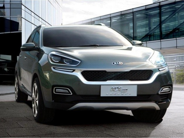 Report: A new Kia KX3 Concept gets leaked, to debut in Guangzhou