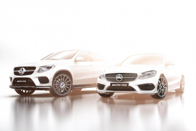 Mercedes-Benz teases first AMG Sport models, due at Detroit this year