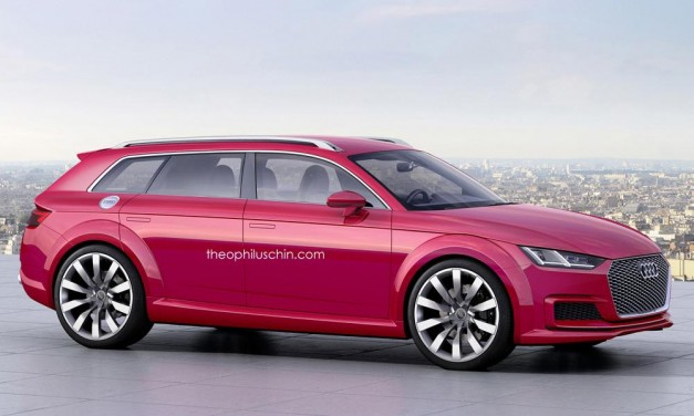 Photo Rendering: This Audi TT Avant concept isn't such a bad idea