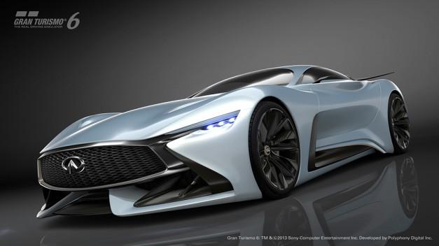Infiniti reveals new Concept Vision Gran Turismo w/ video