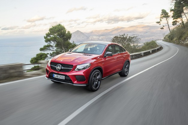You'll need $66,025 to get your hands on a basic 2016 Mercedes-Benz GLE Coupe