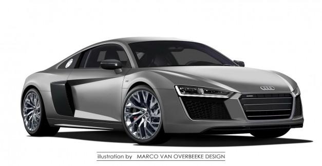 Photo Rendering: Could this be what the next-gen Audi R8 looks like?