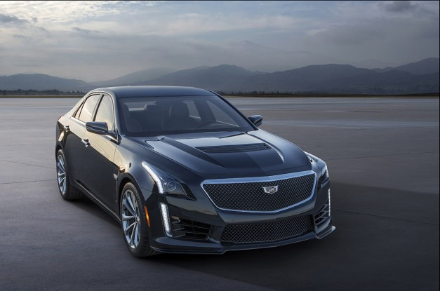 Meet the 200mph,  2016 Cadillac CTS-V, complete with 640hp