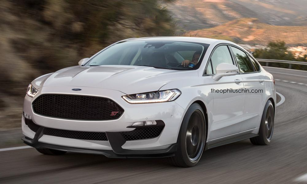 Photo Rendering: Imagine if Ford built a Fusion/Mondeo ST - egmCarTech