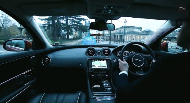 "Jaguar-Land Rover's autonomous vehicles will ""drive like humans would"""