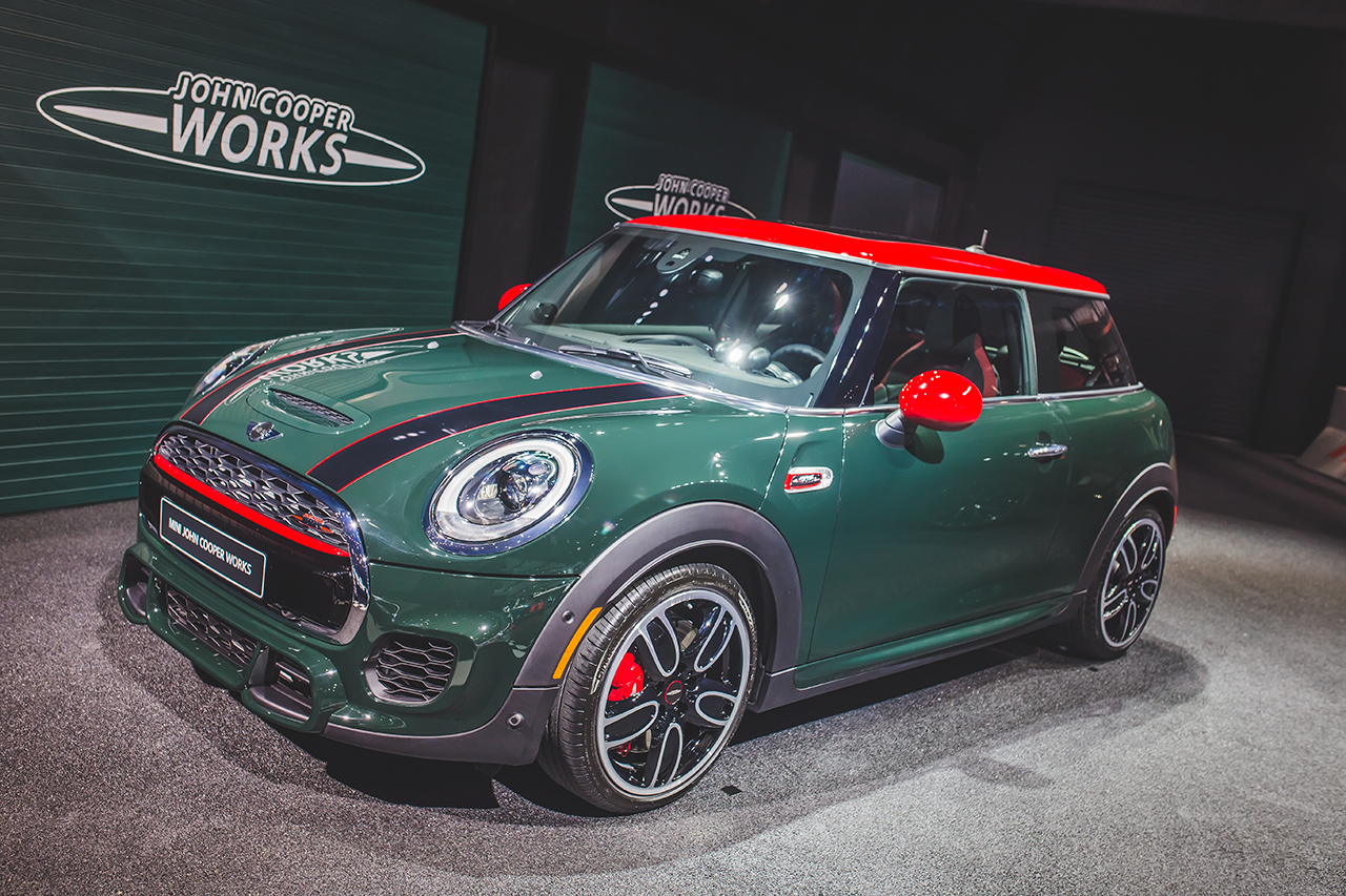 2015 detroit 2015 mini cooper john cooper works egmcartech. Black Bedroom Furniture Sets. Home Design Ideas