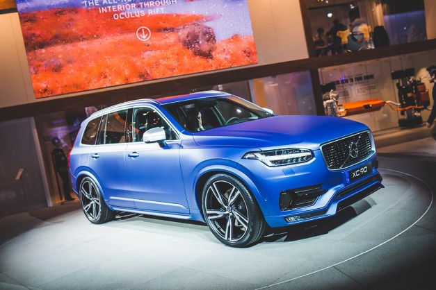Volvo's new 2015 XC90 T8 Twin Engine will cost you around $68,100 for starters