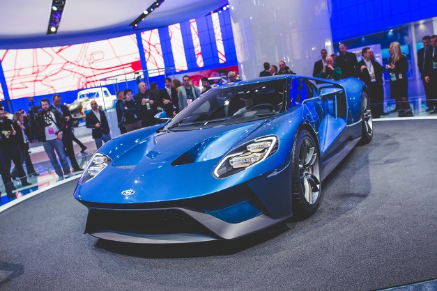 Report: Production for the 2016 Ford GT limited to 200, for now