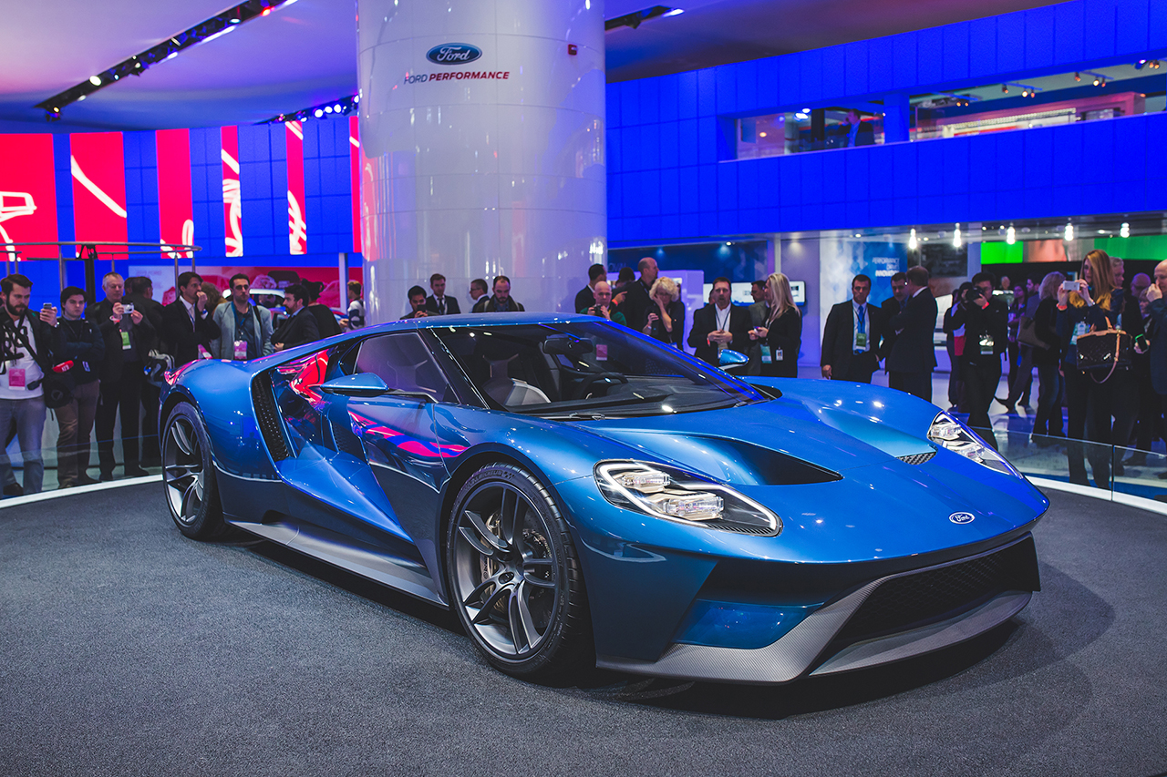 2015 Detroit - All-New Ford GTNew Ford GT (7)