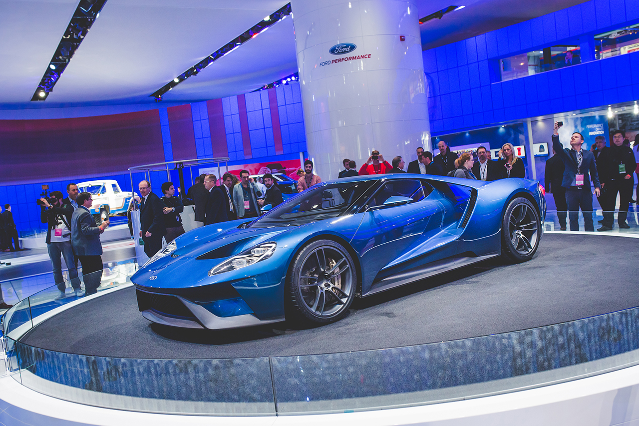 2015 Detroit - All-New Ford GT