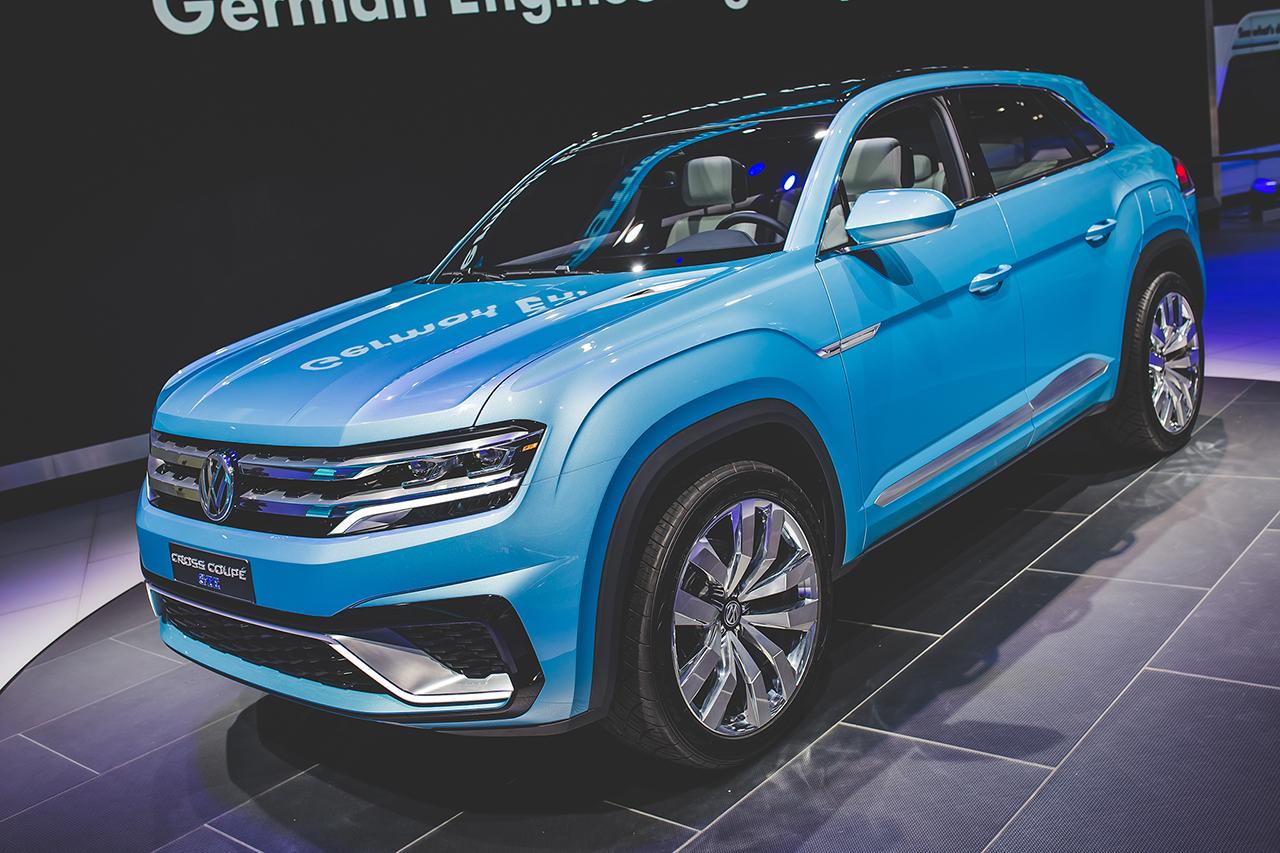 2015 Detroit Volkswagen Cross Coupe Gte Concept Egmcartech