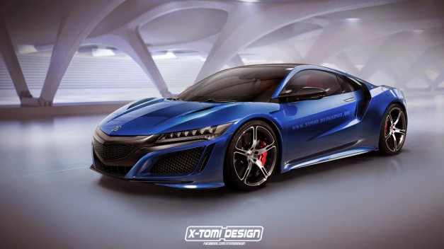 Photo Rendering: This is what an Acura NSX Type R could look like–and it'll likely happen