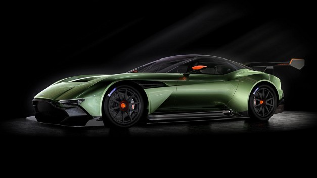 Report: Aston Martin will release a conversion kit to make the Vulcan road-legal