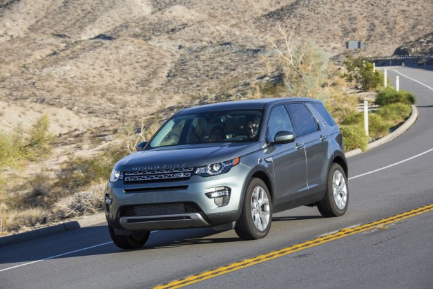The 2015 Land Rover Discovery Sport Launch Edition starts at $48,975