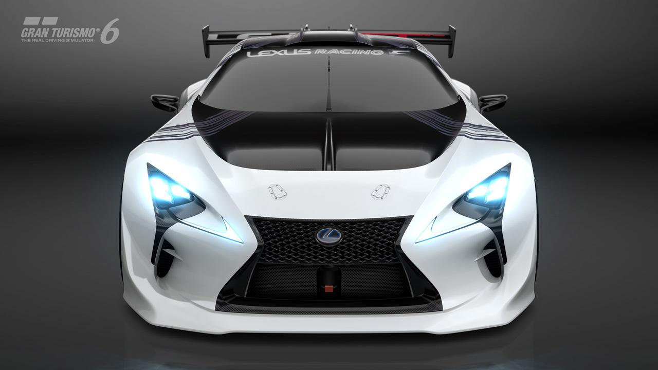 2015 Lexus Lf Lc Gt Vision Gran Turismo Concept 3