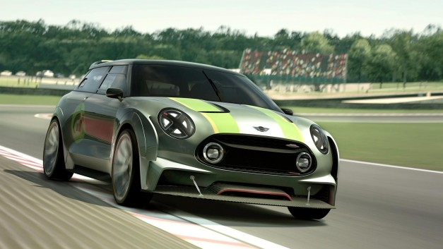 The Mini Clubman Vision Gran Turismo Concept goes live