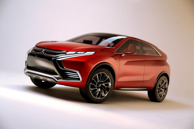 Mitsubishi reveales the Concept XR-PHEV II for Geneva