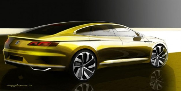 Report: Pictures surface of new Volkswagen CC Concept due at Geneva