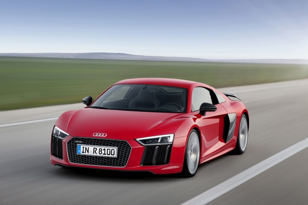 The new next-gen Audi R8, it's finally here