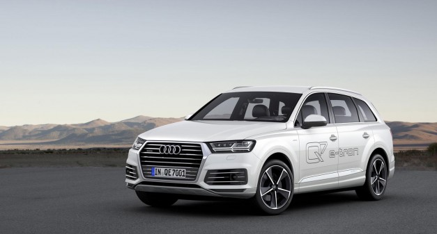 2015 Geneva: Audi's new Q7 e-tron 3.0 TDI diesel hybrid goes live